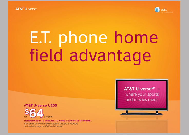 AT&T U-verse Programming Packages Collateral