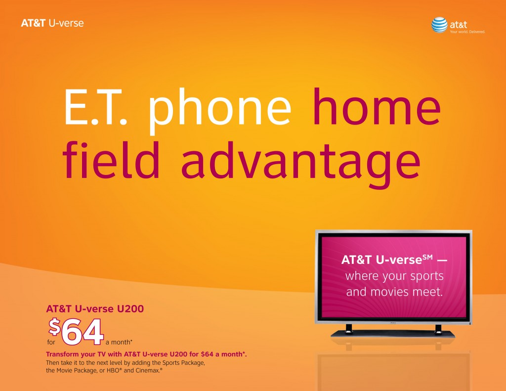 AT&T U-verse Programming Packages Flyer 1 (Click to enlarge)