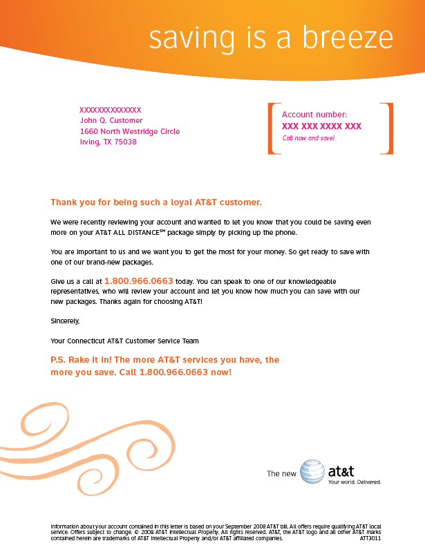 AT&T Portfolio Simplification Letter Kit2