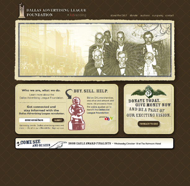 Dallas Advertising League Foundation Homepage