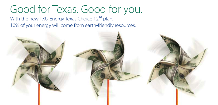 TXU Green Self-mailer1